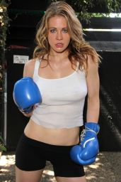 Maitland Ward Work Out Photoshoot in West Hollywood - September 2014
