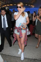 Margot Robbie Arriving at LAX Airport - September 2014