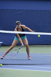 Maria Sharapova - Practice session during 2014 U.S. Open Tennis Tournament