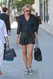 Maria Sharapova - Rodeo Drive in Beverly Hills - September 2014