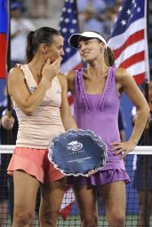 Martina Hingis & Flavia Pennetta - U.S. Open 2014 Doubles Final Match in New York City