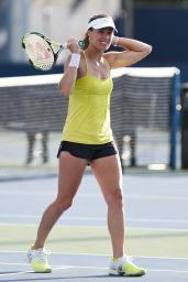 Martina Hingis Practice - U.S. Open 2014