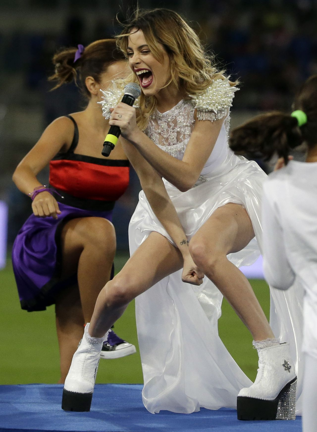 Martina Stoessel Performs at Rome
