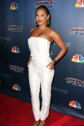 Melanie Brown – 'America's Got Talent' Season 9 Finale Red Carpet in New York City – September 2014