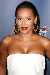 Melanie Brown – 'America's Got Talent' Season 9 Finale Red Carpet in New York City – September 2014