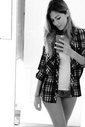 Melissa Castagnoli Hot in Micro Shorts - September 2014