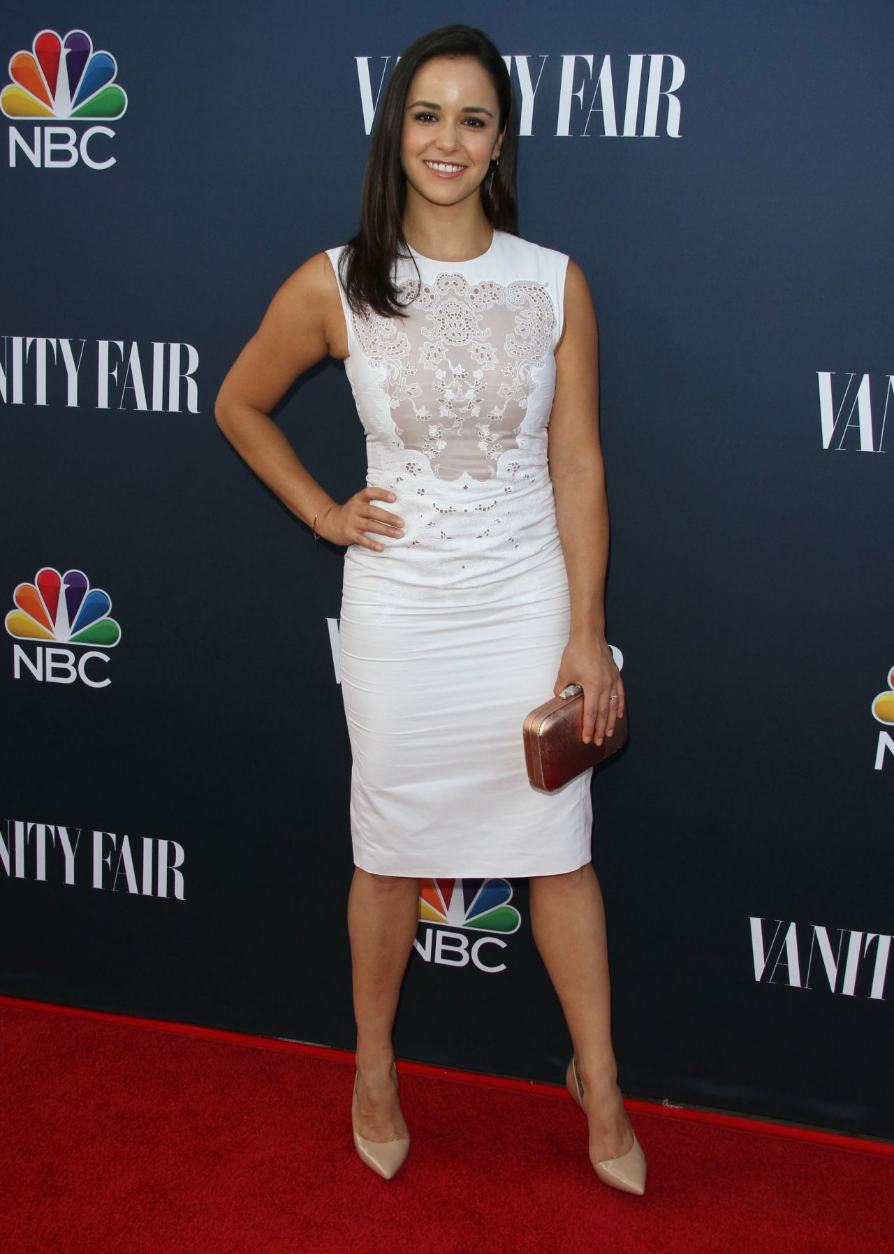 Melissa Fumero Nbc Universal Vanity Fair Party In Los