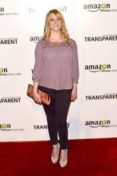 Melissa Rauch – 'Transparent' Premiere in Los Angeles