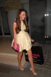 Michelle Heaton at Izabelle Hammon Press Launch in London - September 2014