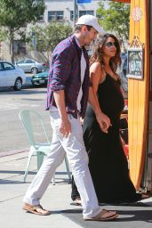 Mila Kunis & Ashton Kutcher Out in Los Angeles - September 2014