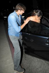 Mila Kunis - Exit From Dinner in Melrose - September 2014