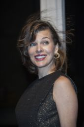 Milla Jovovich - Jaeger LeCoultre Gala Dinner in San Rocco in Venice, Italy - September 2014