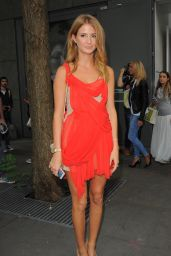 Millie Mackintosh - Julien Macdonald show at London Fashion Week - September 2014