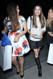Miranda Cosgrove & Jennette McCurdy - Katy Perry Concert in Los Angeles, September 2014
