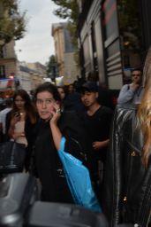 Miranda Kerr at Paris Fashion Week - Sonia Rykiel Show, Sept. 2014