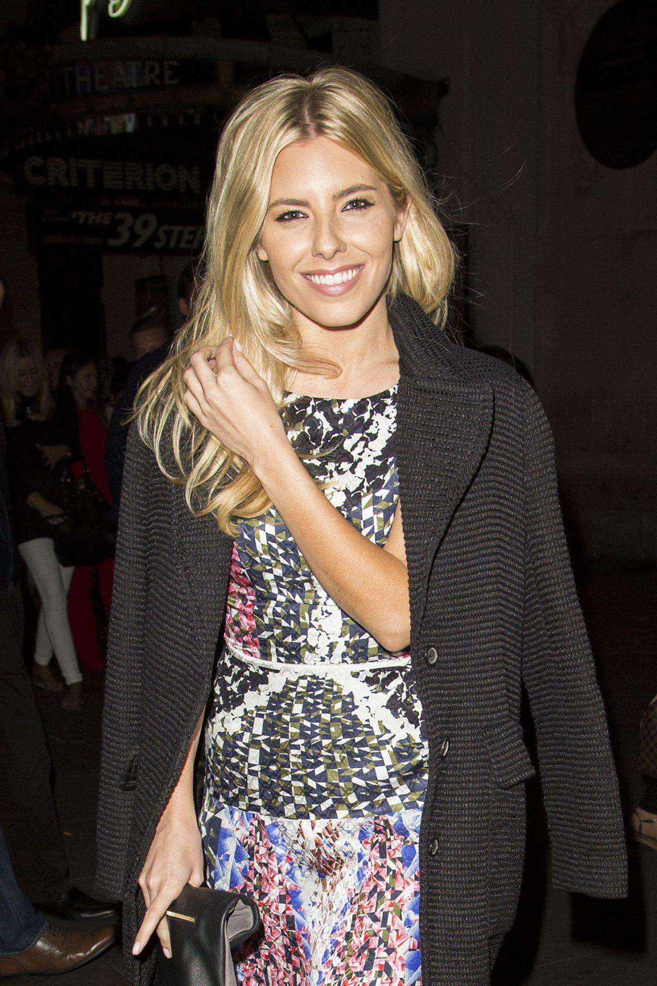 Mollie King - NEXT Model Management London Fashion Week Dinner - September 2014