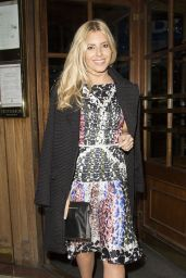 Mollie King - NEXT Model Management London Fashion Week Dinner - September 2014