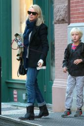 Naomi Watts - Leaving Her Apartment in New York City - September 2014