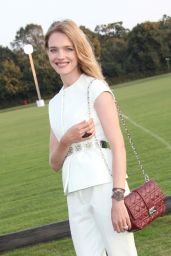 Natalia Vodianova - Chovgan Twilight Polo at Ham Polo Club in Richmond (UK) - September 2014