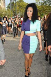 Nicki Minaj Arriving at the Alexander Wang Fashion Show in New York City - Sept. 2014