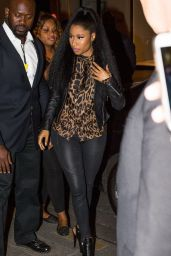 Nicki Minaj Out in Paris, France - September 2014