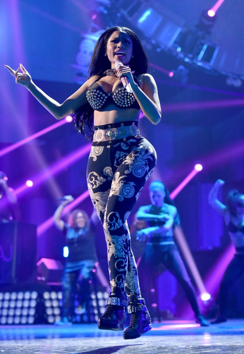 Nicki Minaj Performs At 2014 Iheartradio Music Festival