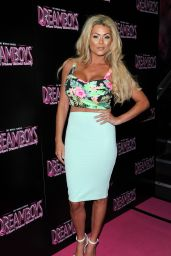 Nicola McLean Attends The Dreamboys Fit And Famous Tour 2014 in London
