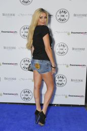 Nicola McLean - Jeans for Genes Day 2014 Launch Party in London