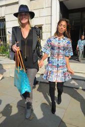 Nicole Scherzinger - Alice Temperley Show – London Fashion Week – September 2014