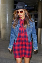 Nicole Scherzinger at LAX Airport in Los Angeles - September 2014