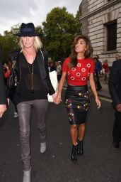 Nicole Scherzinger - Matthew WilliamsonShow - London Fashion Week - September 2014