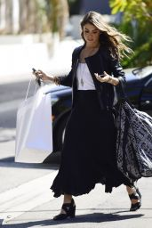 Nikki Reed - Shopping on Beverly Boulevard in Los Angeles - September 2014