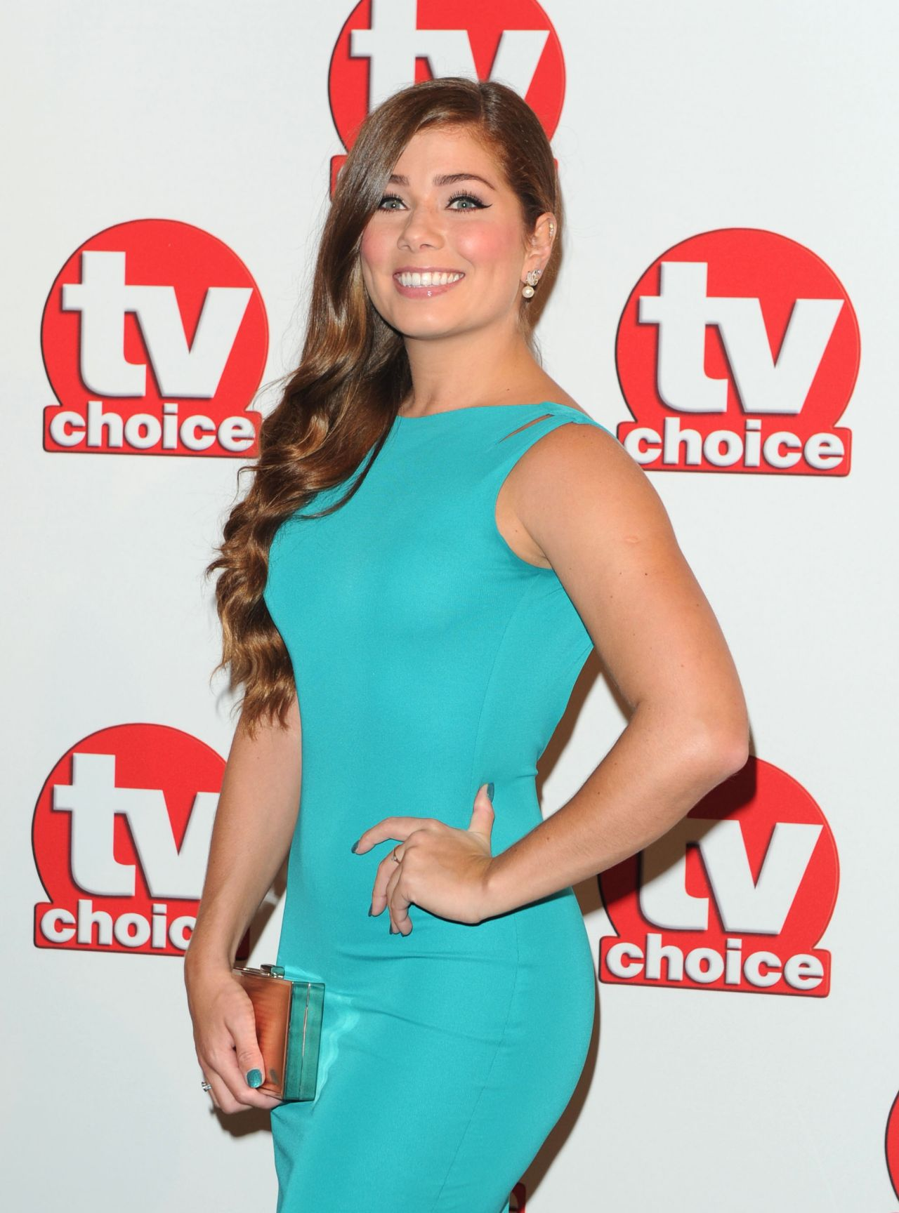 Nikki Sanderson - TV Choice Awards 2014 in London