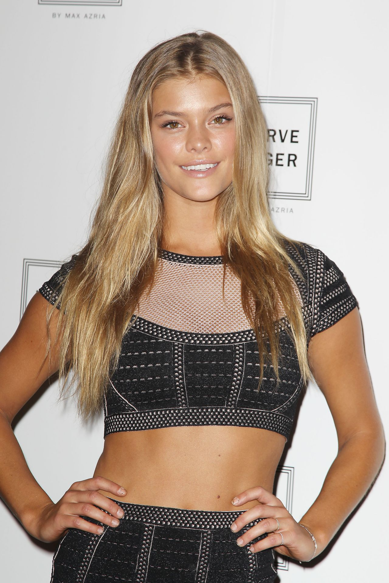 Nina Agdal - Herve Leger By Max Azria Fashion Show in New York City – September 2014