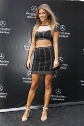 Nina Agdal - Mercedes-Benz Fashion Week in New York City - September 2014