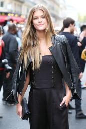 Nina Agdal - Paris Fashion Week - Givenchy Spring/Summer 2015