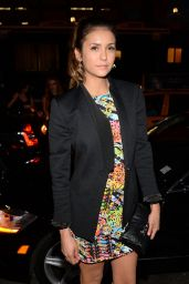 Nina Dobrev - Versus Versace Fashion Show in New York City - Sept. 2014