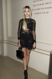Nina Nesbitt @ Julien Macdonald Show at London Fashion Week - September 2014