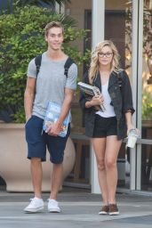 Olivia Holt Street Style - Out in Los Angeles - September 2014