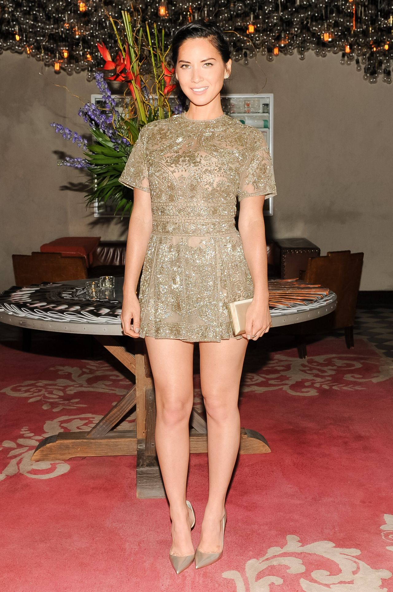 Olivia Munn - THR & Micaela Erlanger Celebrates Fashion Week in New York City