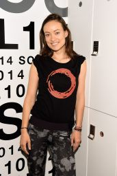 Olivia Wilde - Global Citizen, Conscious Commerce IMPACK Day in New York City (2014)