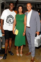 Padma Lakshmi - Costello Tagliapietra Fashion Show – Mercedes-Benz Fashion Week Spring 2015