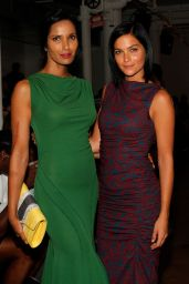 Padma Lakshmi - Costello Tagliapietra Fashion Show – Mercedes-Benz Fashion Week Spring 2015