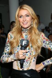 Paris Hilton - The Blonds Spring 2015 Fashion Show in New York City