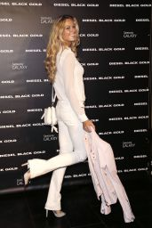 Petra Nemcova – Diesel Black Gold Spring 2015 Fashion Show in New York City