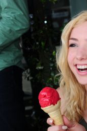 Peyton Roi List Cute Ice Cream Photoshoot - September 2014