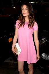 Phoebe Tonkin - Versus Versace Fashion Show in New York City - September 2014