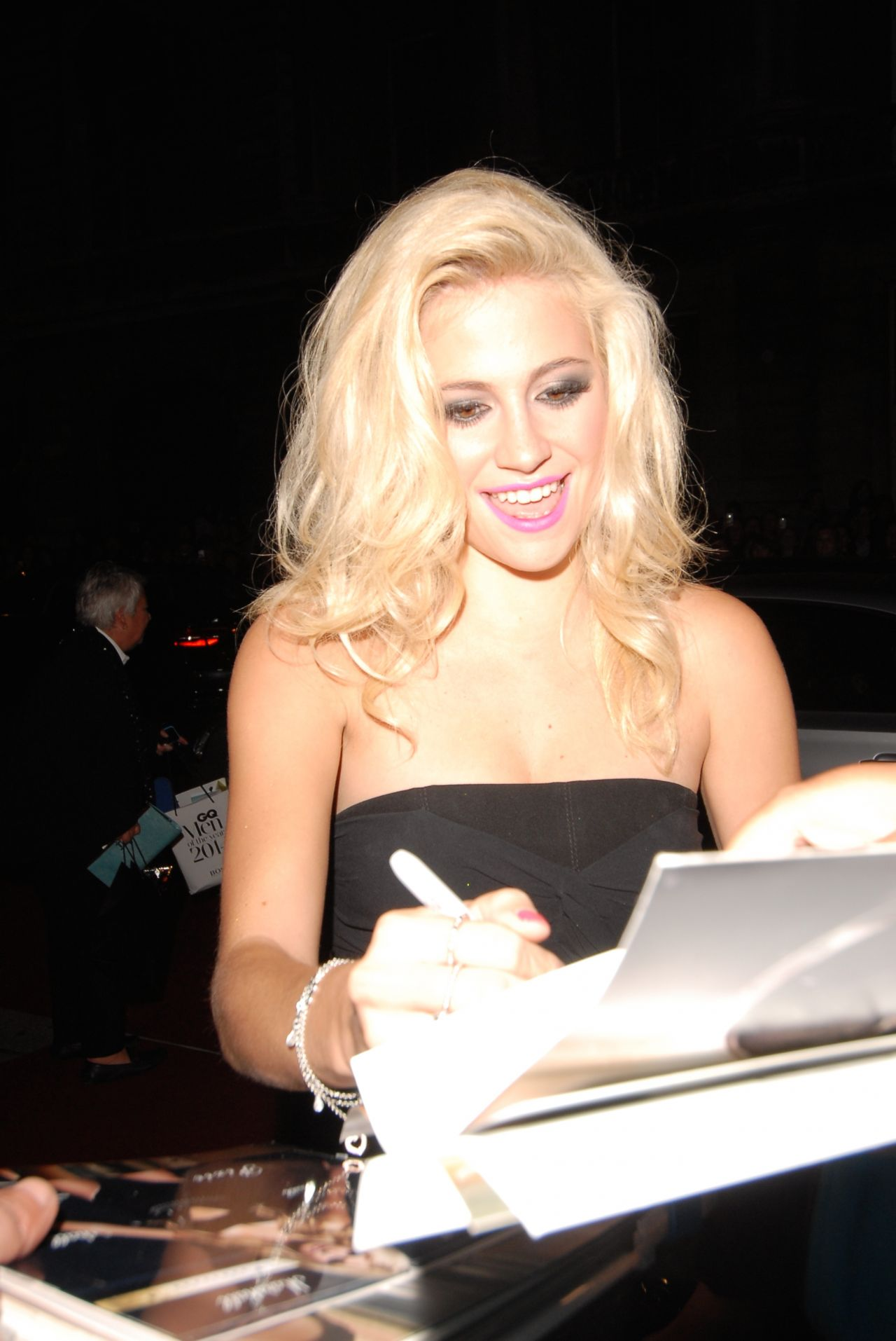 Pixie Lott at GQ Men Of The Year Awards 2014