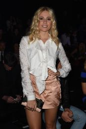 Pixie Lott - Just Cavalli Show at Milan Fashion Week, Italy - September 2014
