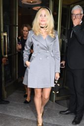 Pixie Lott Leaving the Temperley London Fashion Show in London - September 2014